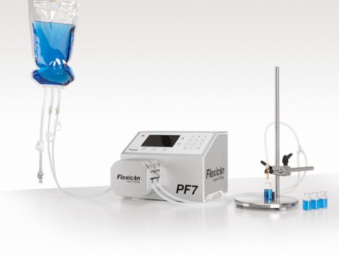 The Flexicon PF7 precision aseptic liquid filler