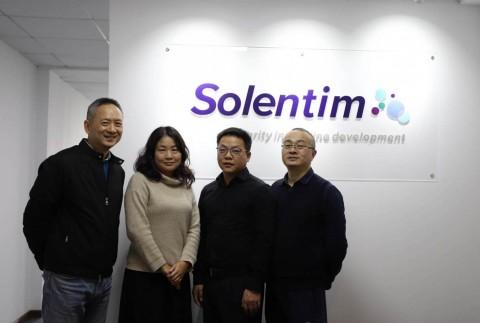 The Solentim China Team