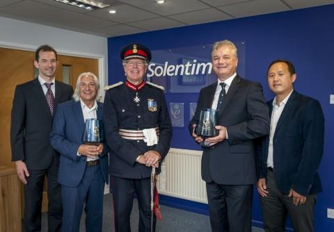 Solentim Queen's Award