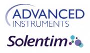 Advanced Instruments and Solentim logos